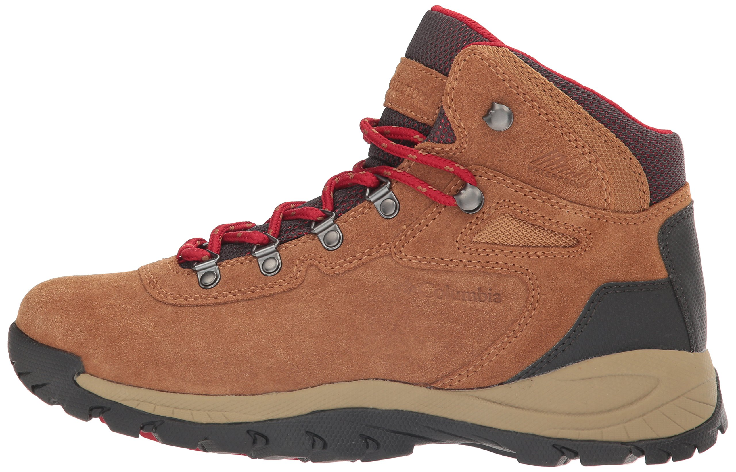 Columbia Women's Newton Ridge Plus Waterproof Amped Hiking Boot, Elk, Mountain Red, 7.5 B US by Columbia (Image #5)