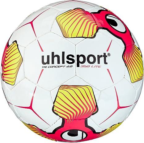 uhlsport Tri Concept 2.0 350 Lite Balones de Fútbol, Unisex, Blanco, 5: Amazon.es: Deportes y aire libre