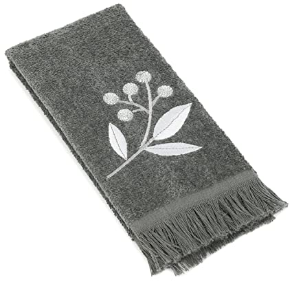Amazoncom Avanti Linens Madison Fingertip Towel Granite Home