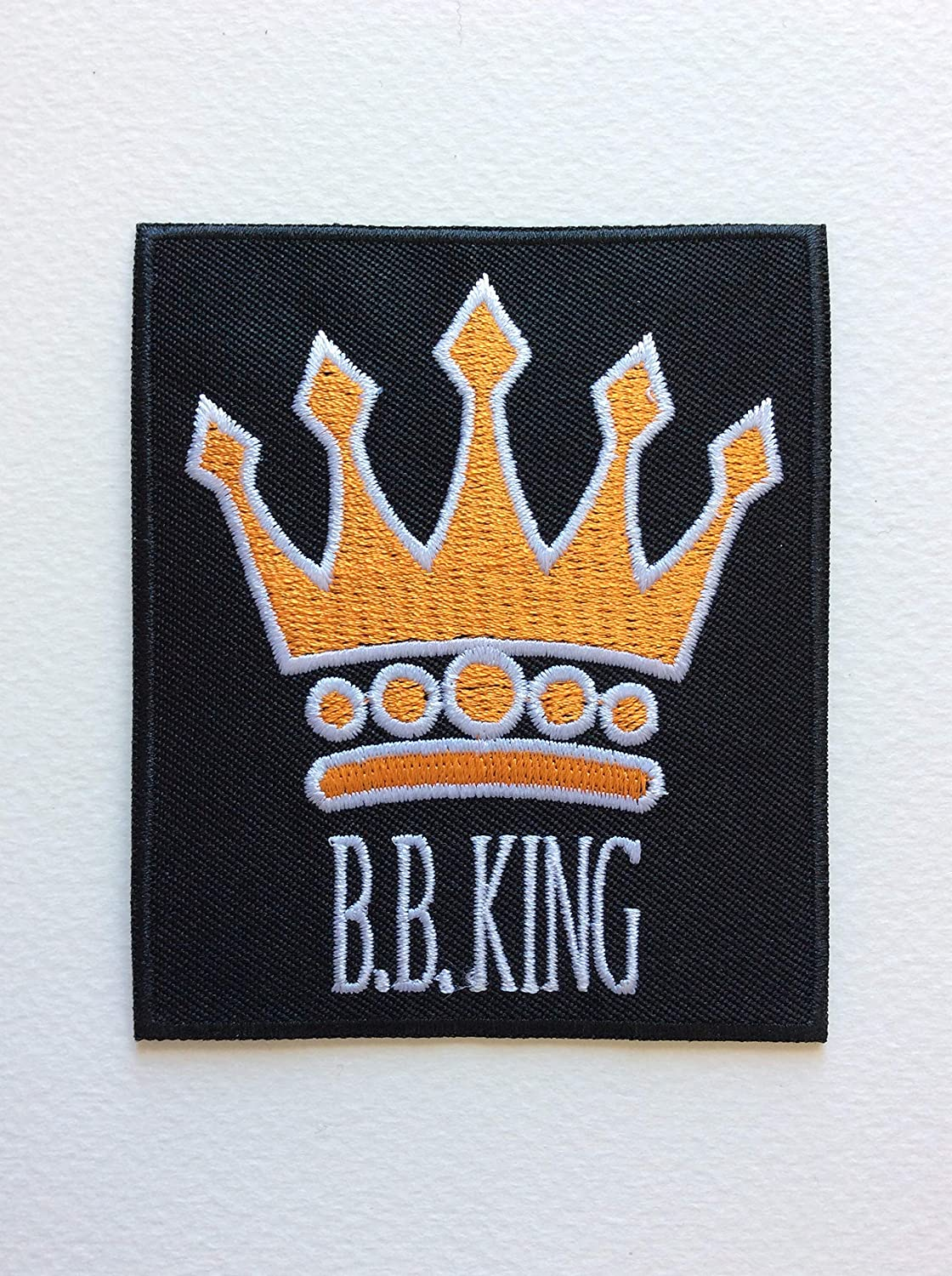 BLUE HAWAI ECUSSON Patches AUFNAHER Toppa THERMOCOLLANT BB King 7,5 9 CM