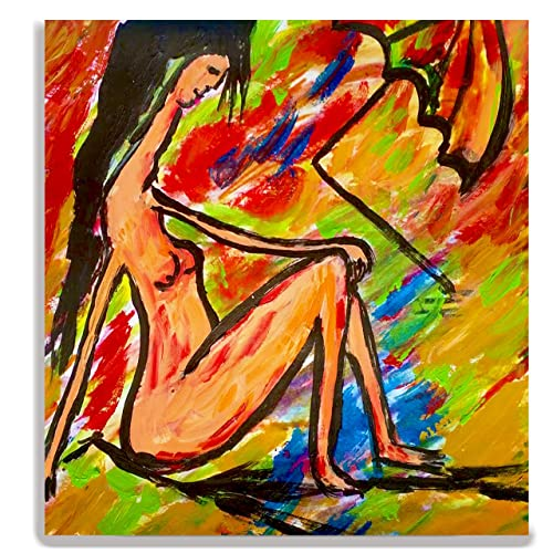 Amazon Com Contemporary Figurative Painting Nude Woman