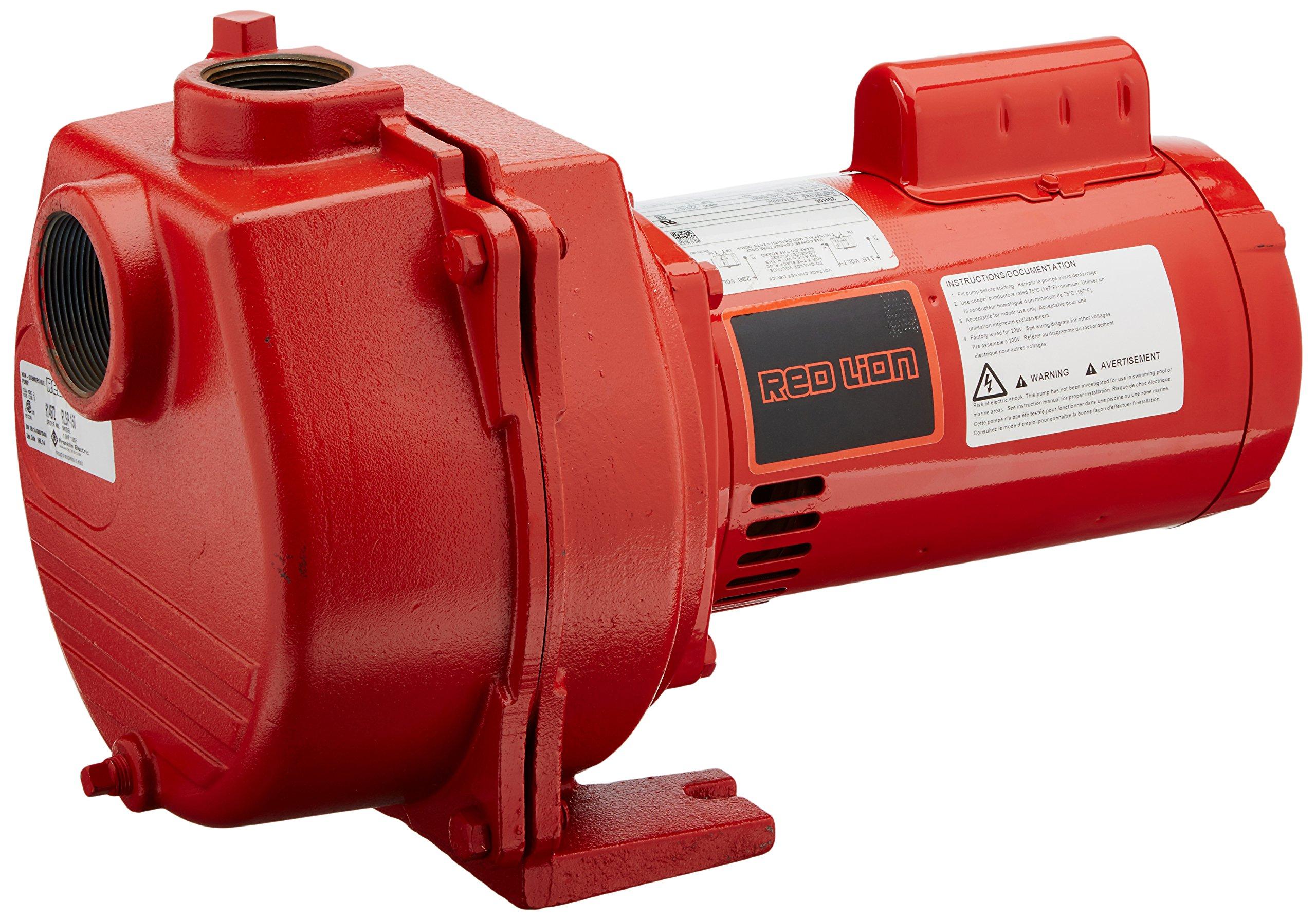 Red Lion RLSP-150 1-1/2-HP 50-GPM Cast Iron Sprinkler Pump