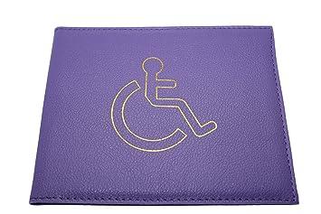 Porte badge pour personne handicapée violet amazon