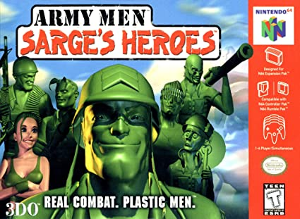 Amazon com: Army Men Sarge's Heroes: Video Games