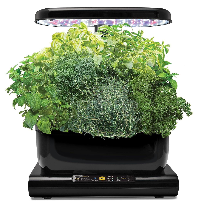 AeroGarden Harvest Kit de cultivo interior smart garden capsulas W negro