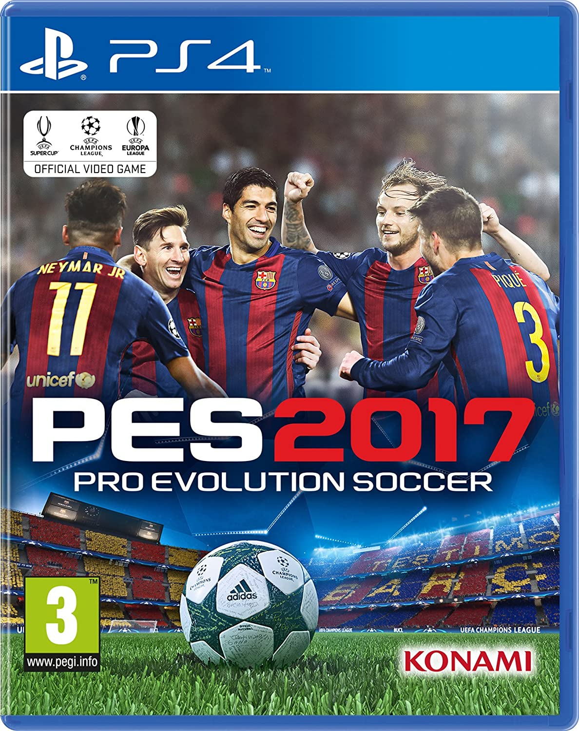 131dca16a Buy PES 2017 (PS3) Online at Low Prices in India