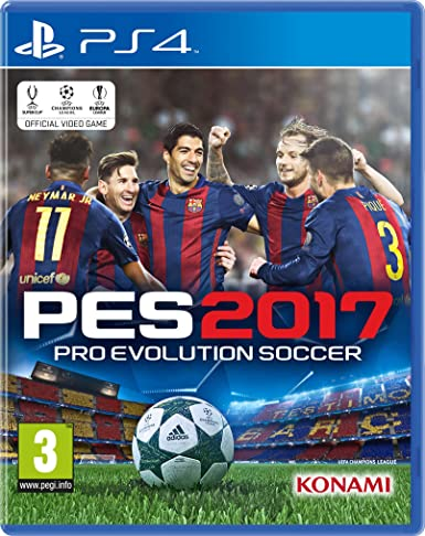 Buy PES 2017 (PS4) Online at Low Prices in India | Konami