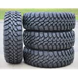 Set of 4 (FOUR) Forceum M/T 08 Plus Mud Radial Tires-LT265/70R17 121/118P LRE 10-Ply