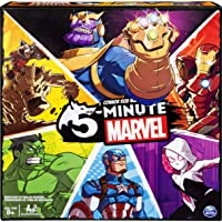 Spin Master Games 5 Min Marvel Fast-Paced Cooperative Card For Marvel Fans & Kids Aged 8 & Up