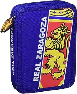 Real Zaragoza Estzar Estuche, Blanco/Azul, Talla Única