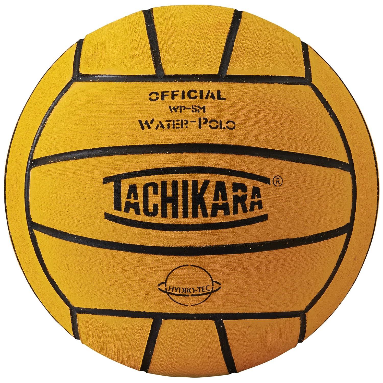 Tachikara Water Polo Ball, Official Size, Yellow WP-5M