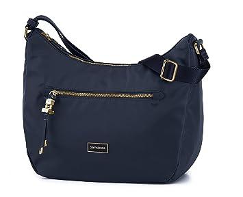 Samsonite Move 2.0 Shoulder Bag M plus 2 Pocket Sac Bandoulière, 31 cm, 7,800 L, Vert Argenté