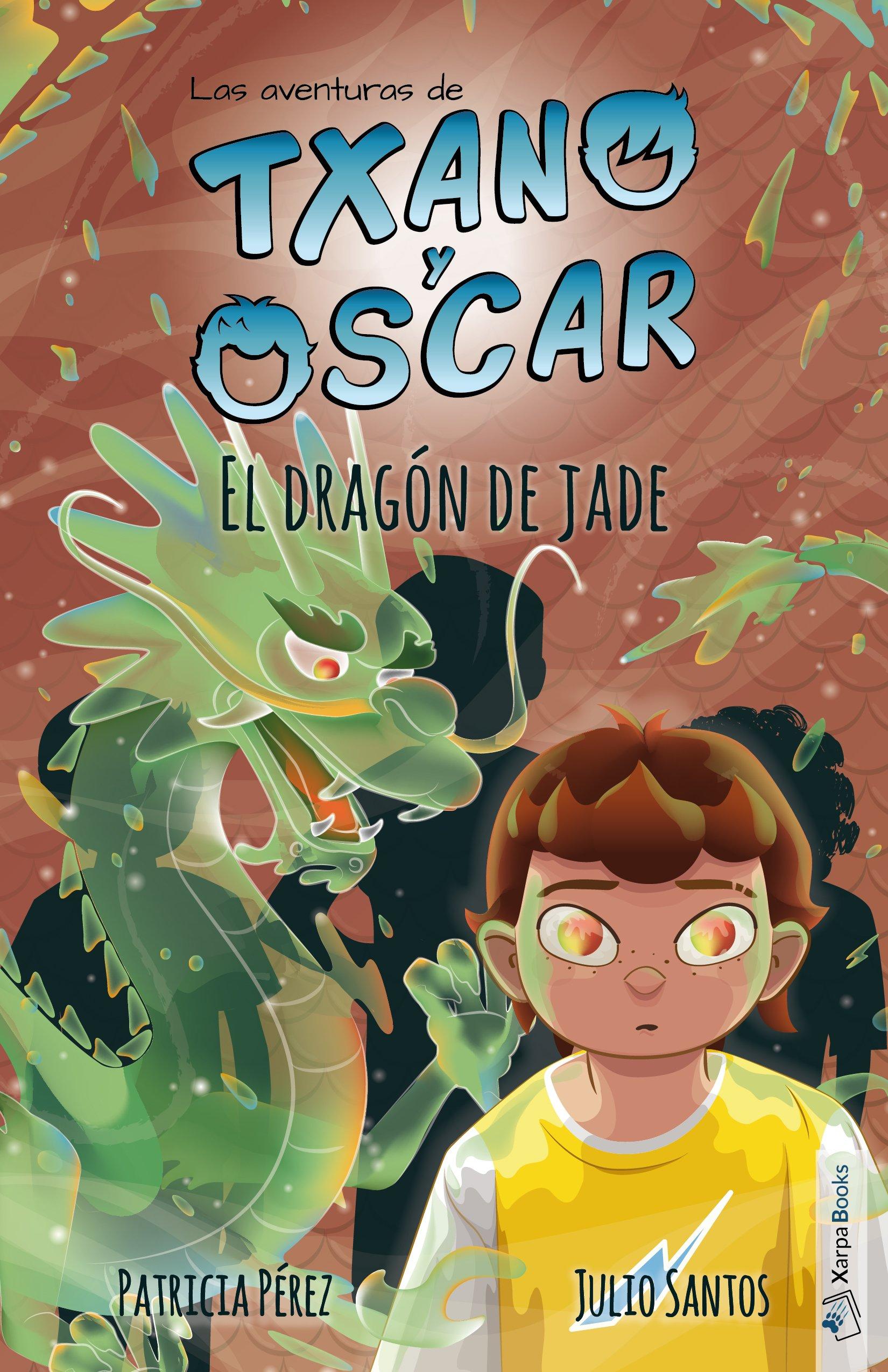 El dragón de jade: Las aventuras de Txano y Óscar: Amazon.es: Julio Santos  García, Patricia Pérez Redondo: Libros