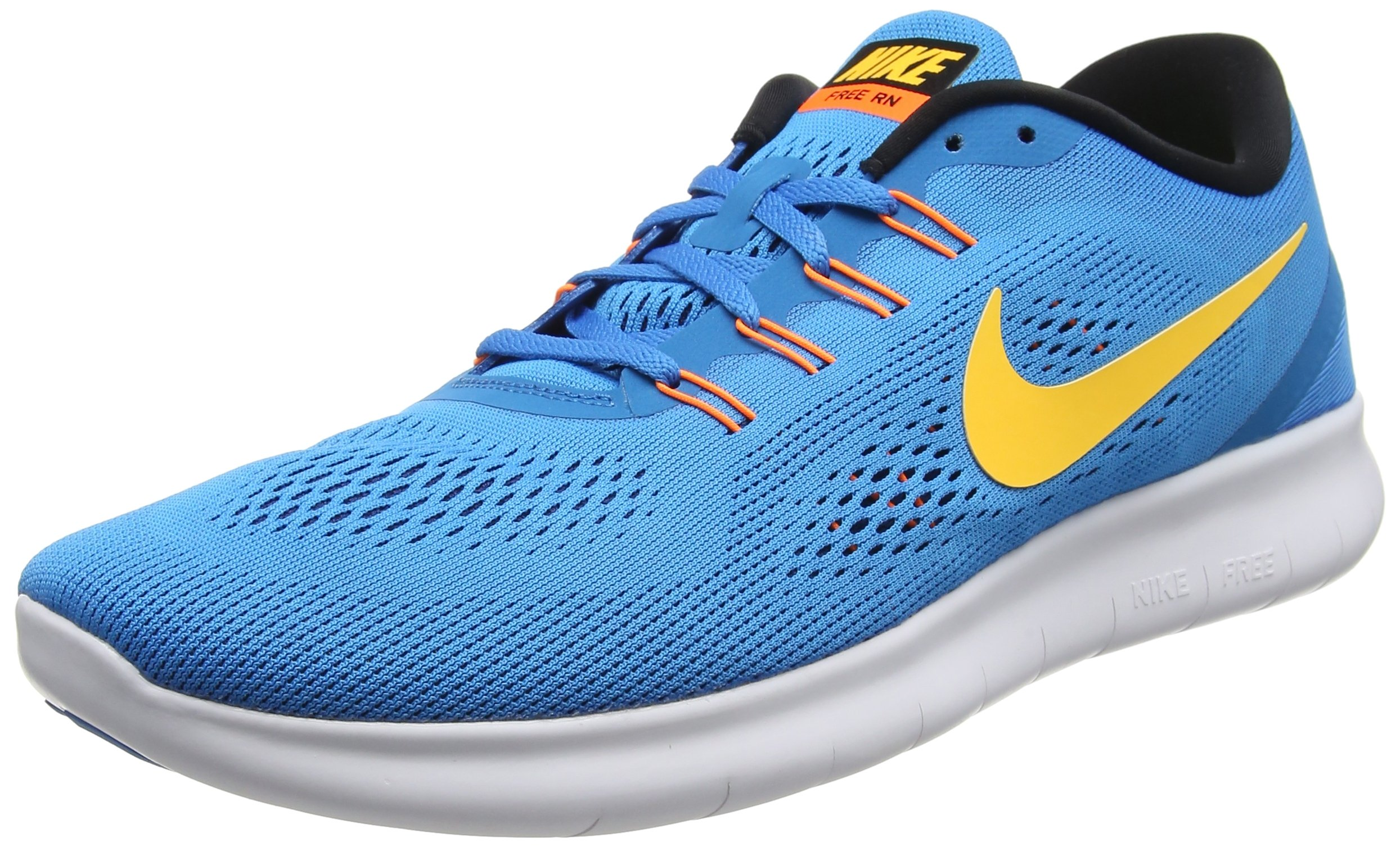 sports shoes e0828 3f07b Galleon - Nike Men s Free RN Running Shoe (12.5 D(M) US, Squadron Blue Gym  Red Blue Spark Black)