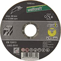 Wolfcraft 1668999 - Disco de corte para amoladora