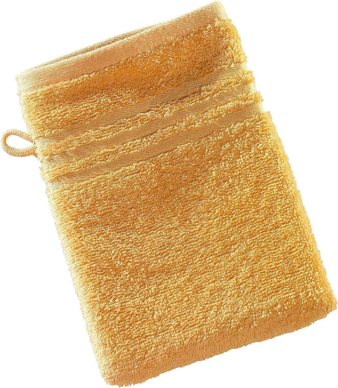 Sonnengelb 023 manopla manoplas toalla de invitados Waschhandschuhe 16x21 cm toalla de mano Toallas de mano de serie Milano Exclusiv toalla de ducha
