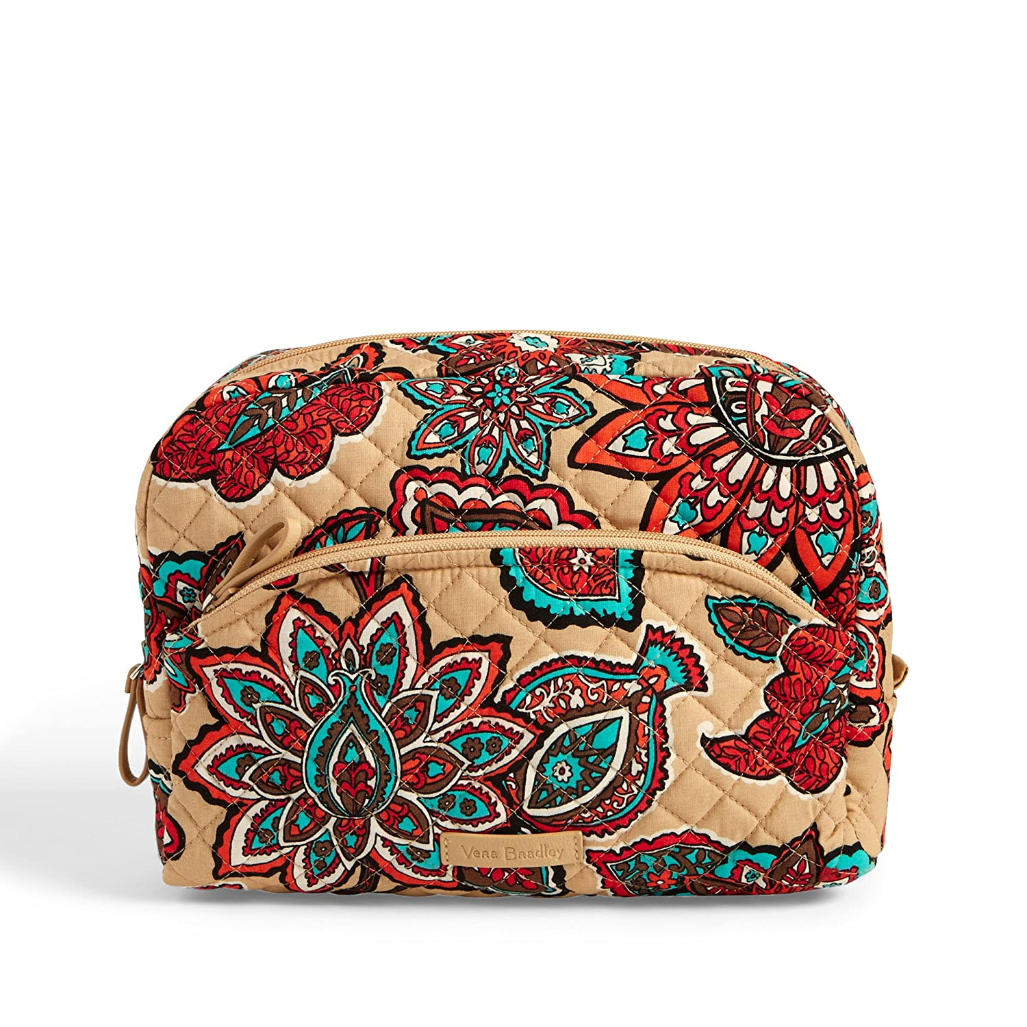 Vera Bradley Iconic Large Cosmetic, Signature Cotton Desert Floral +. Power 22517-K17