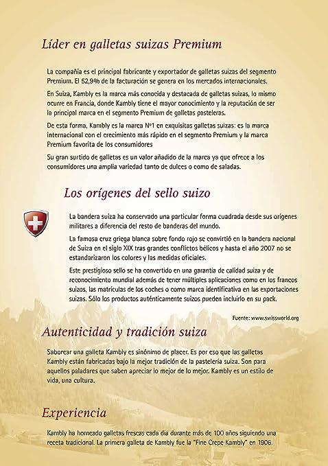Kambly Galletas Suizas Florentín - 100 gr: Amazon.es: Productos para mascotas