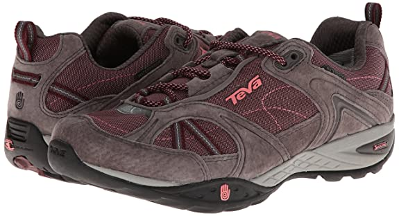 72ee98a6cca3 Teva Women s Sky Lake Waterproof Hiking Shoe Burgundy  Amazon.com.au   Fashion