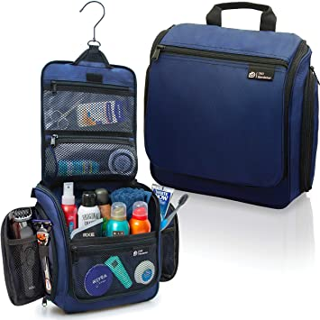 03d9d940f6e4 Hanging Travel Toiletry Bag for Men and Women – Large Cosmetics, Makeup and  Toiletries...