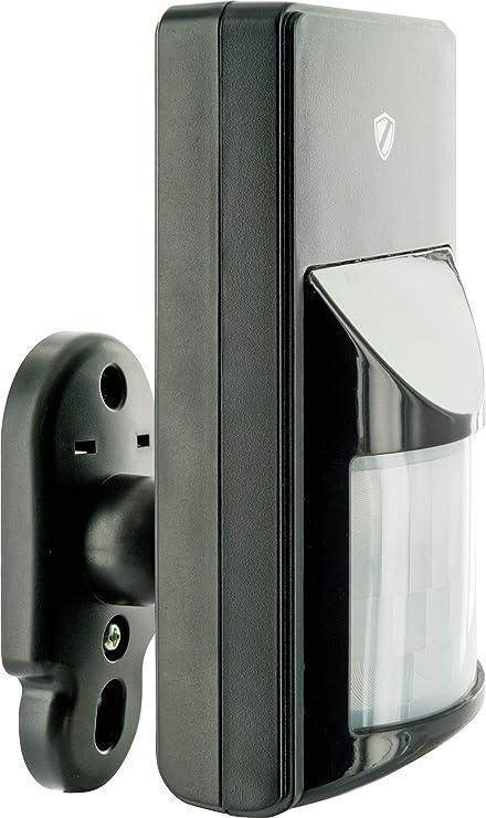 Schwaiger Detector de movimiento PIR Greenguard System para exteriores - Negro
