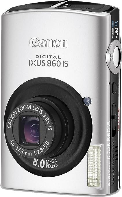 Canon Digital Ixus 860 Is Digitalkamera 3 Zoll Silber Kamera
