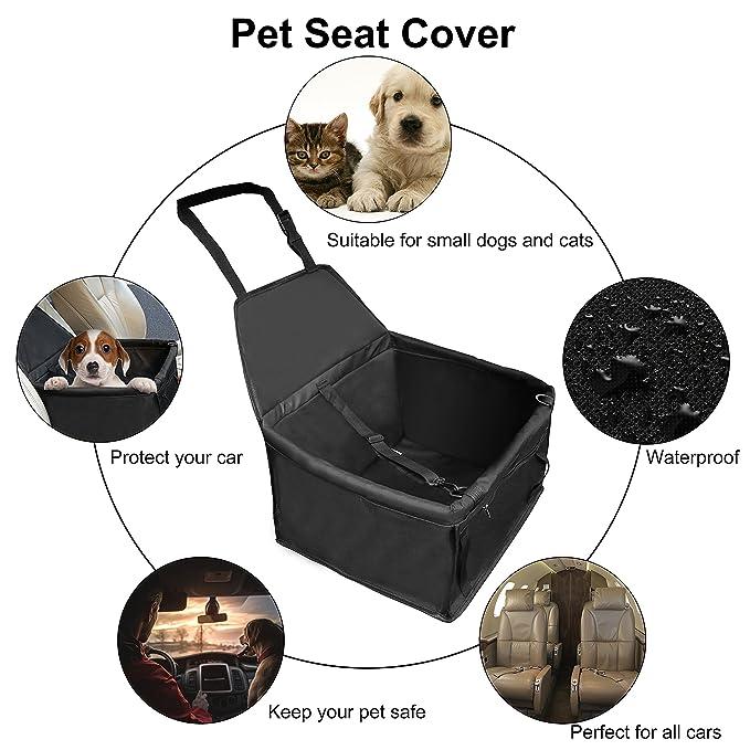 Outad - Sillita para perro, funda de asiento delantero para protección del coche, impermeable, para animales domésticos: Amazon.es: Productos para mascotas