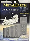 Metal Earth - 5061084 - Maquette 3D - Aviation - Ch-17 Chinook - 18,8 x 9,5 x 4,8 cm - 2 pièces