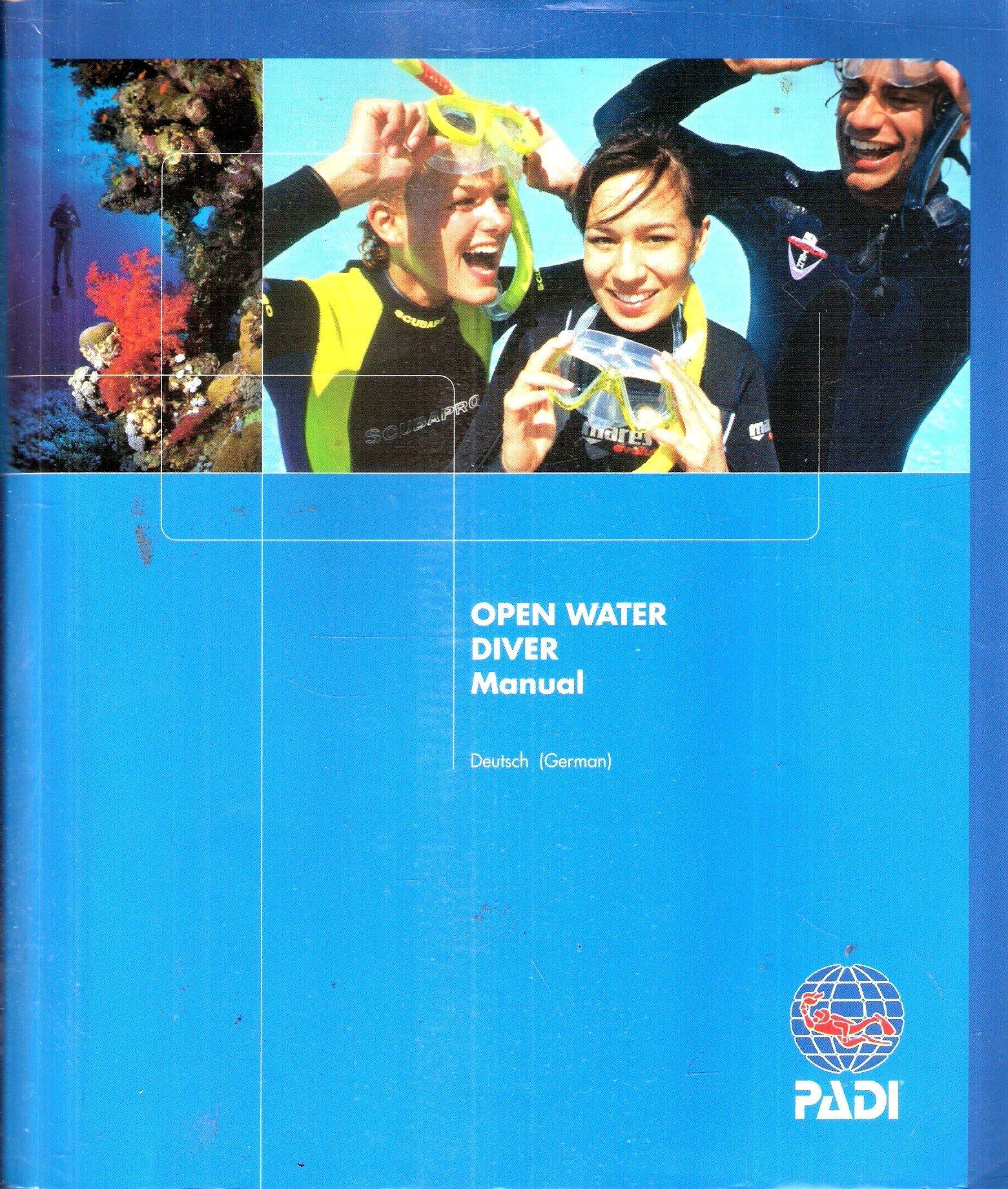 padi open water diver manual revised 2010 version padi rh amazon com Padi Open Water Diver Answers padi open water diver manual francais pdf