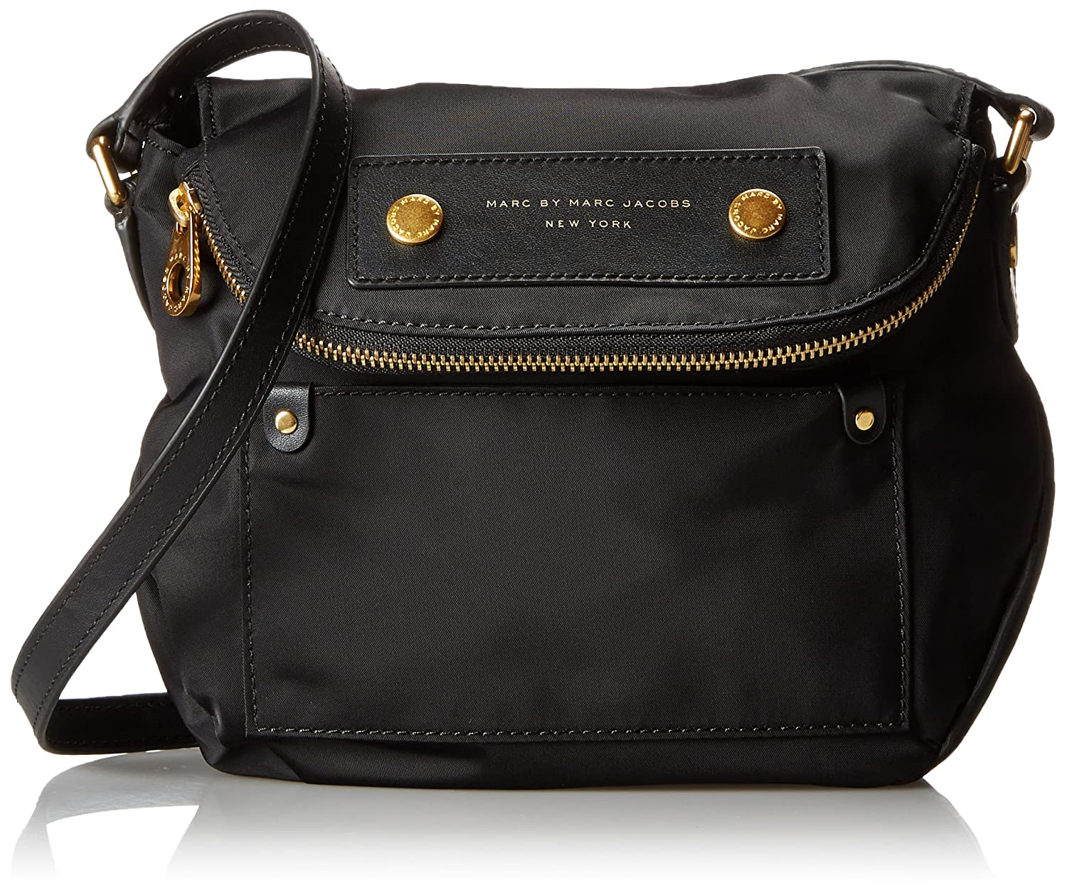 Marc by Marc Jacobs Preppy Nylon Mini Natasha Cross Body Bag Black One Size