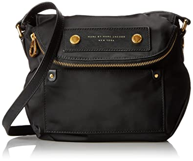 5e76b5cc5e37 Marc By Marc Jacobs  Preppy Nylon Natasha - Mini  Crossbody Bag Black   Amazon.co.uk  Shoes   Bags