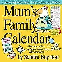 Mum's Family Wall Calendar 2020