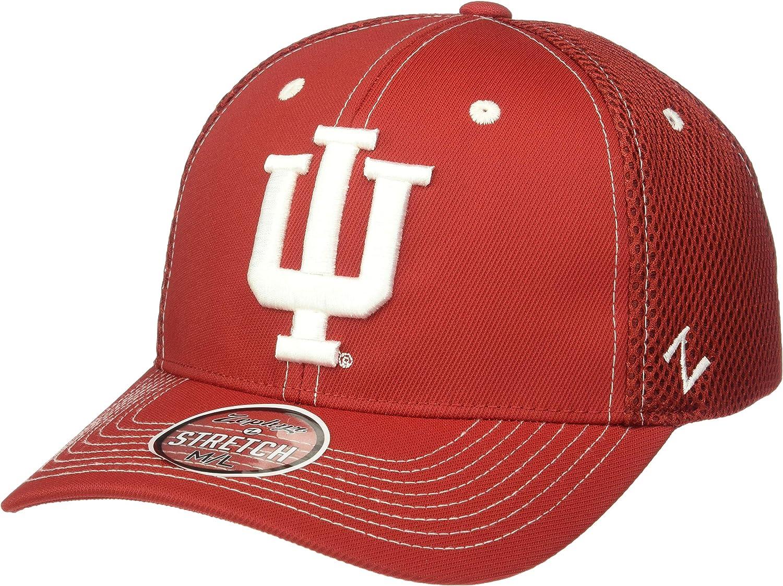 NCAA Zephyr Indiana Hoosiers Mens Pregame 2 Performance Hat Medium//Large Primary Team Color