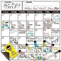 BeezArmor Magnetic Dry Erase Calendar Whiteboard Set