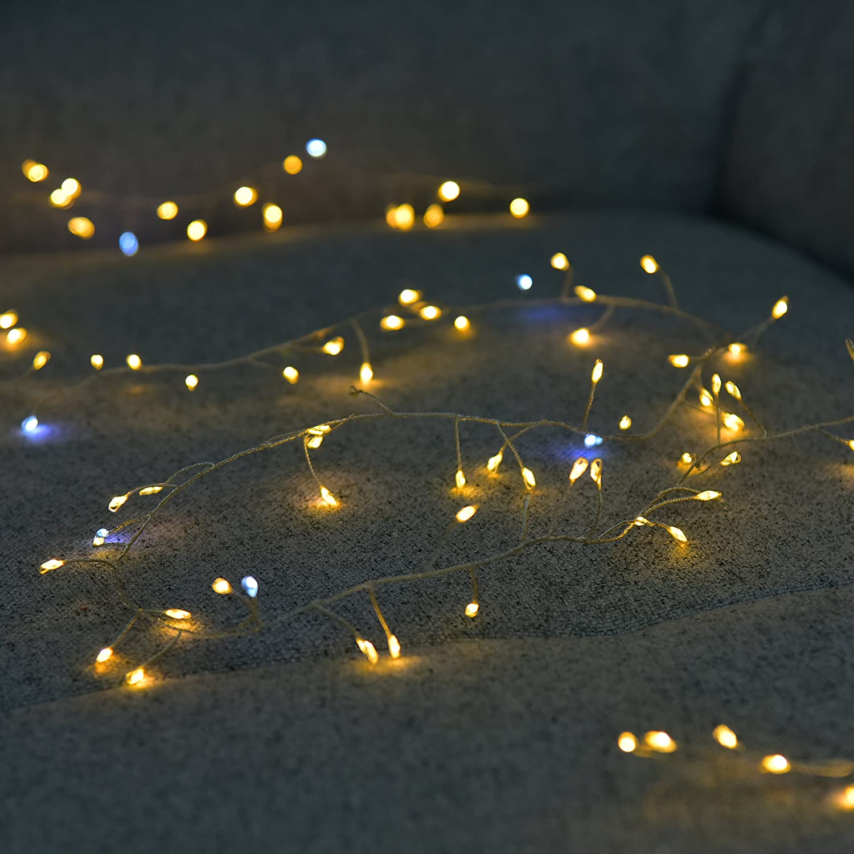 Amazon.com : BIENNA String Lights, 6 ft/2 M 120 LED USB Powered ...
