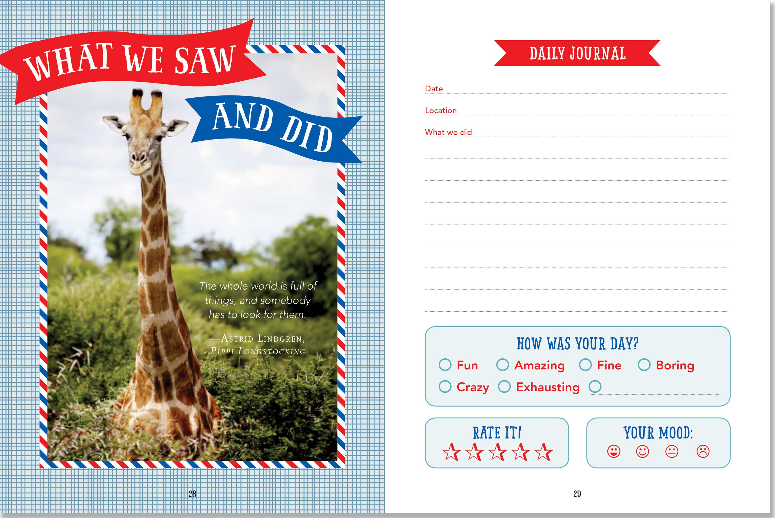 Kids' Travel Journal (Interactive Diary, Notebook) by Peter Pauper Press (Image #3)