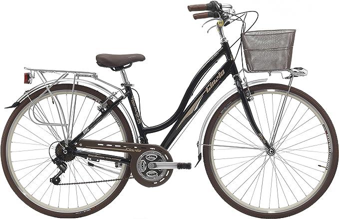 28 Pulgadas Mujer City Bicicleta 21 velocidades Cinzia giara ...