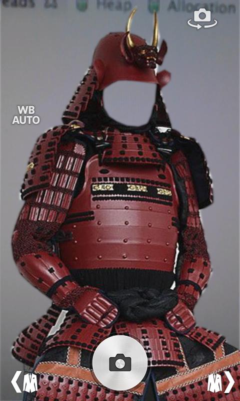 amazoncom samurai armor suit fotomontage appstore for