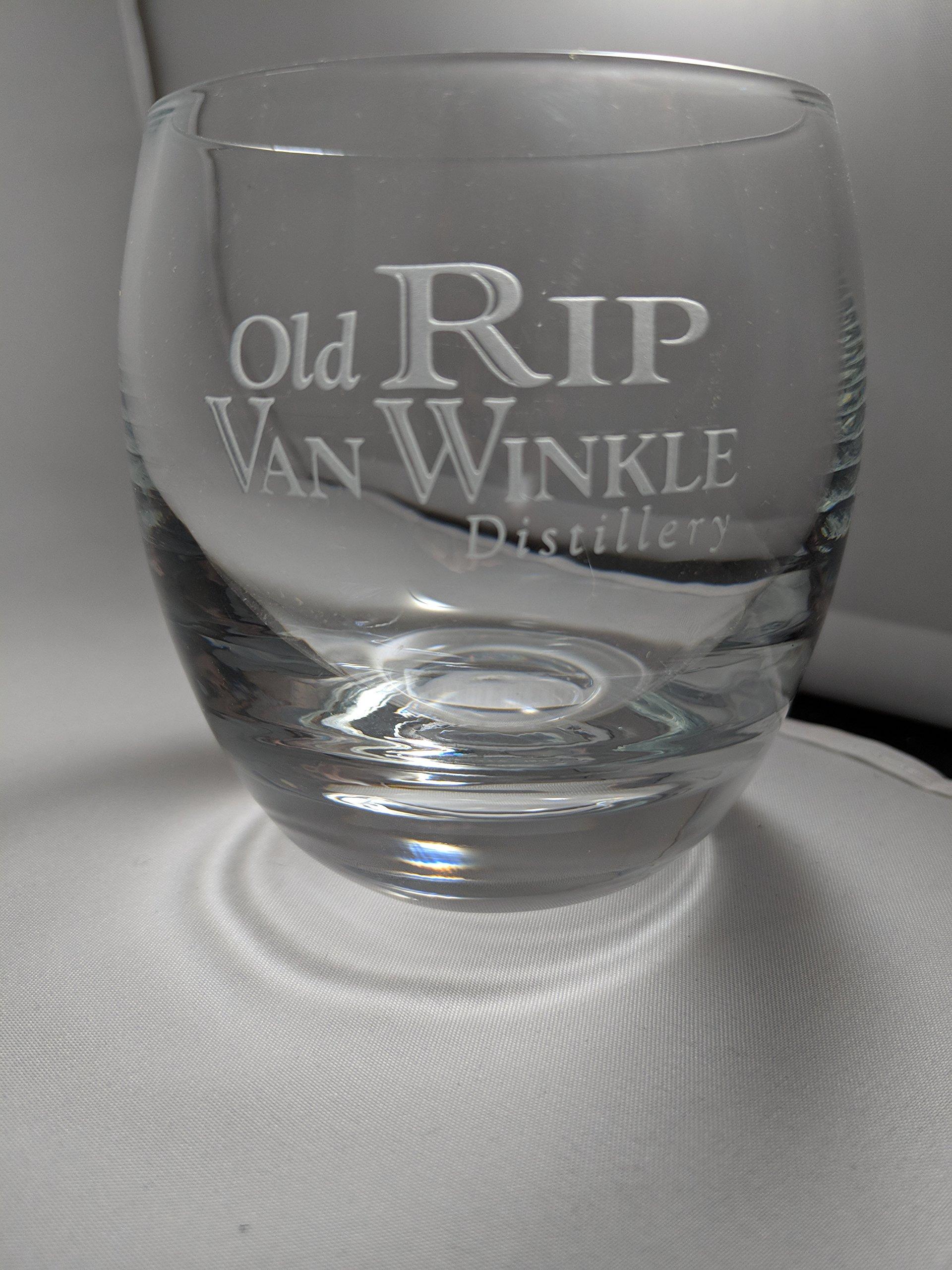 Rip Van Winkle Crystal Rocks Glass