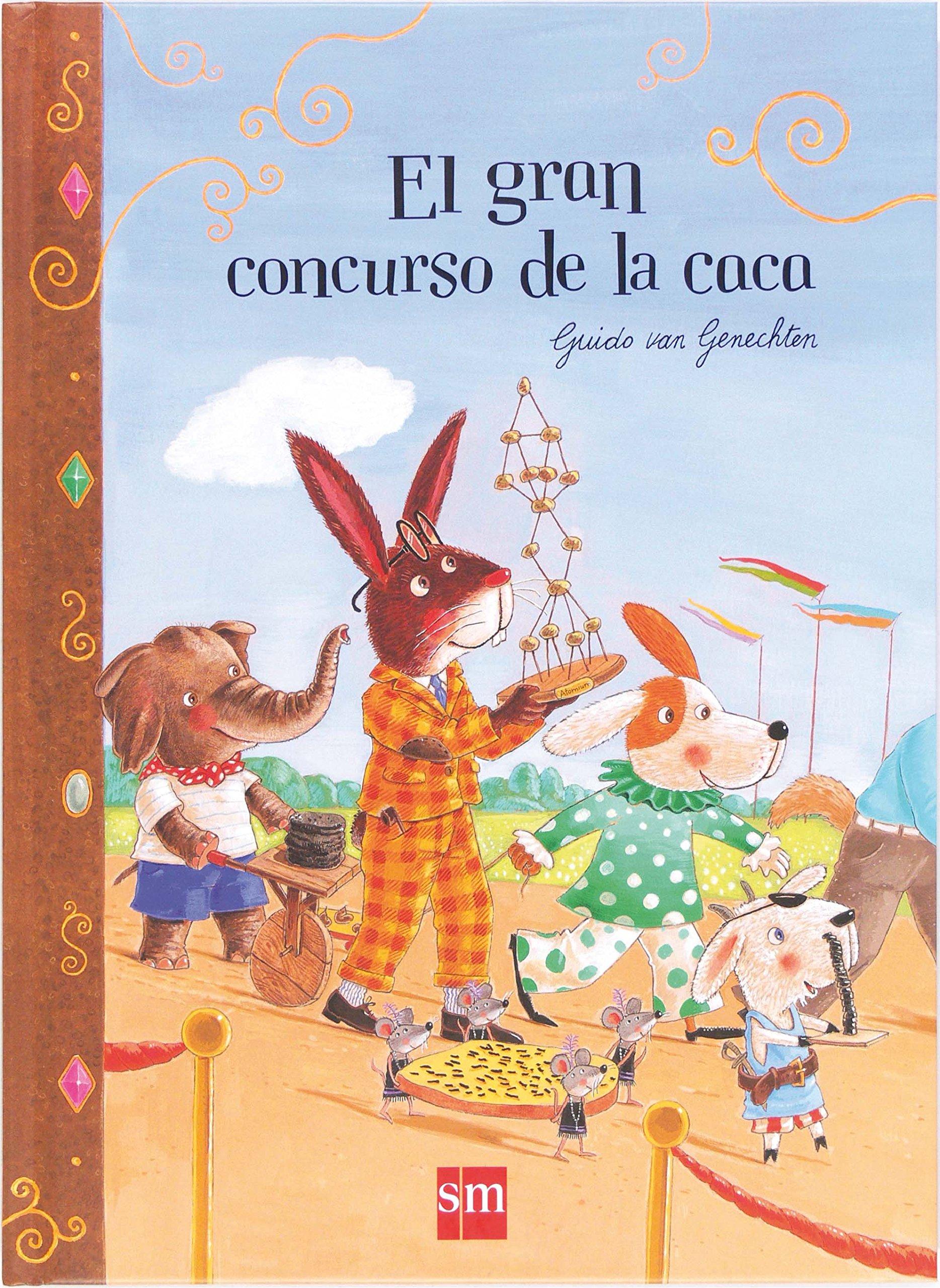El Gran Concurso De La Caca (Libros de cartón): Amazon.es ...
