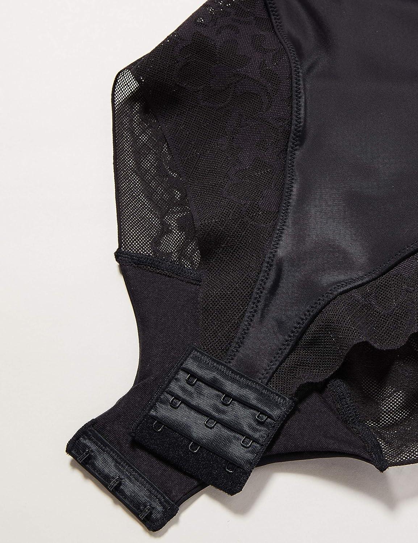 Nero Noir 001 Body Donna Playtex Expert in Silhouette Feminine 3C IT
