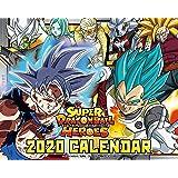 東映アニメーション スーパードラゴンボールヒーローズ 2020年卓上カレンダー