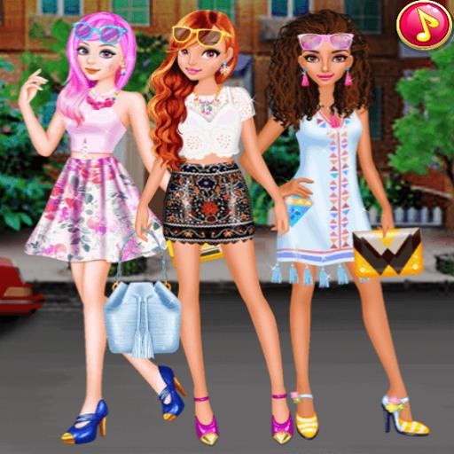Summer Short Skirts - Dress up games for girls