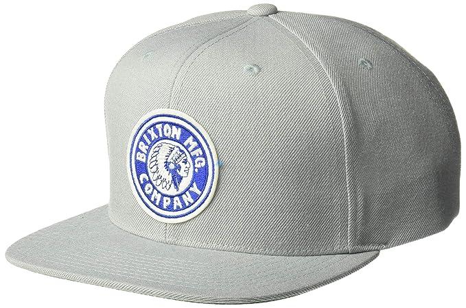 183db0870 Brixton Men's Rival Medium Profile Adjustable Snapback Hat