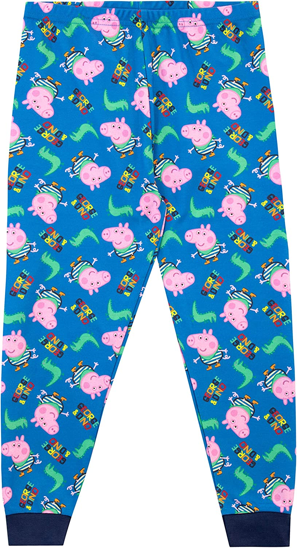 Official Licensed Peppa Pig Boys George Pig Christmas Pyjamas pjs Age 4-5 years