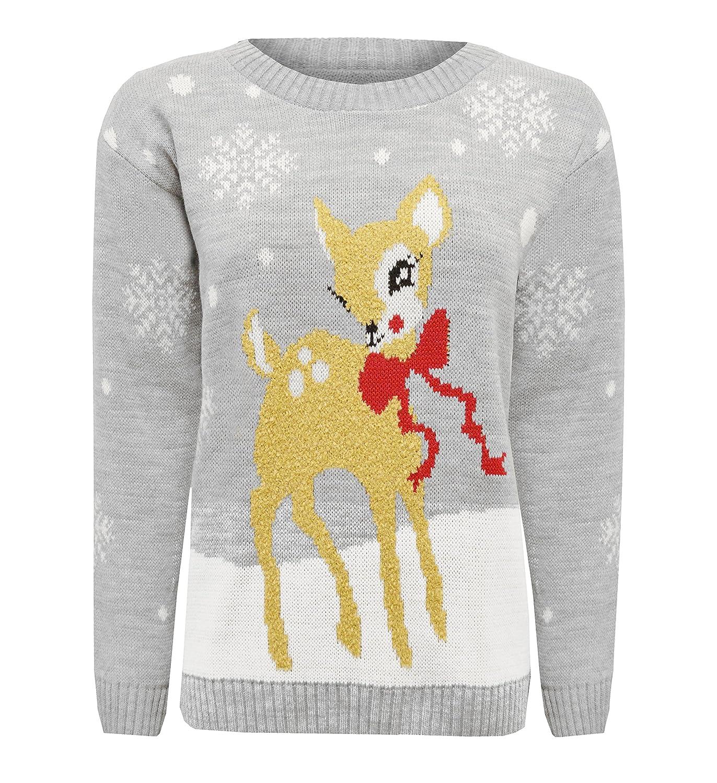 ZET New Childrens Boy Girls Novelty  A Very Merry Christmas Kids Rudolf Pom Pom Christmas Jumper UK Sizes 3-12 Years