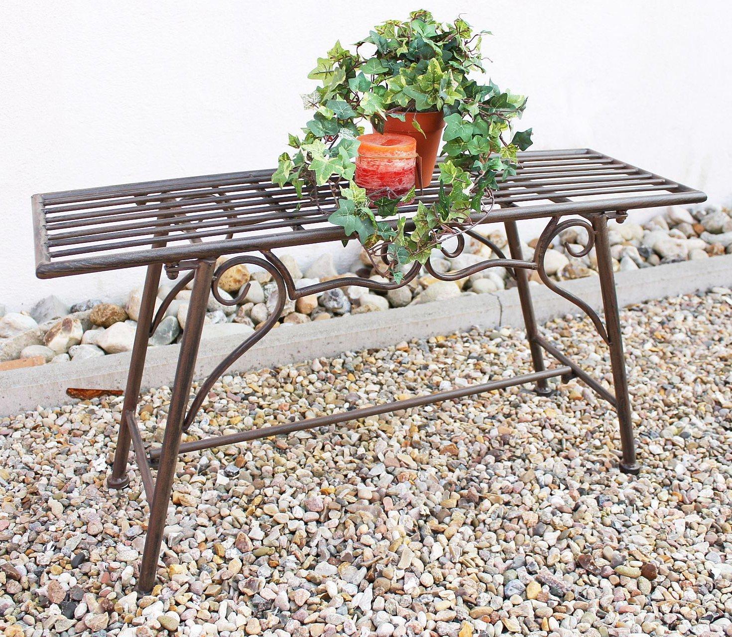 Denk Cuccio-S 77824 - Banco para jardín (metal, anchura de 83 cm)