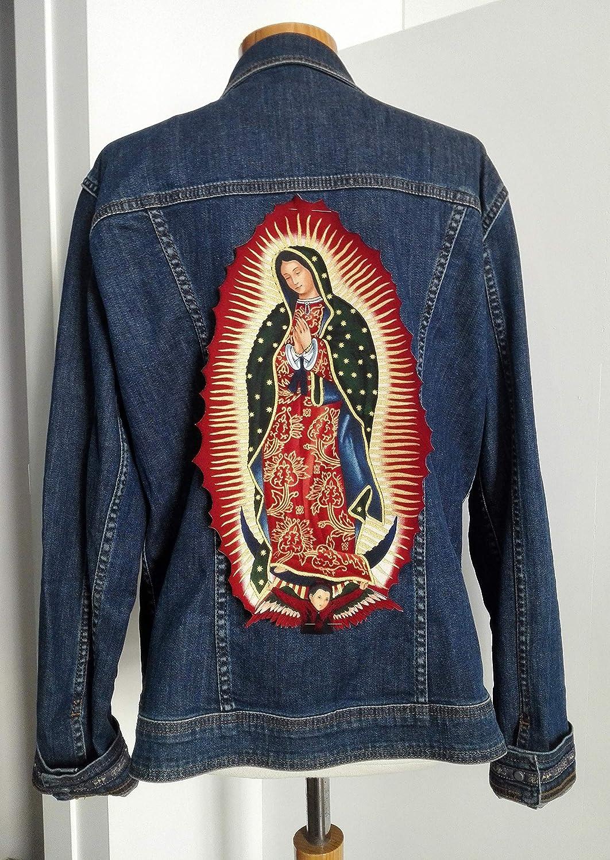 Parche grande Virgen de Guadalupe : Amazon.es: Productos Handmade