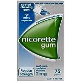 Nicorette Gum Icy Mint 2mg 75