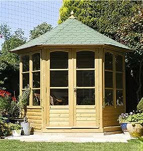Jardín Verde - Quiosco Cenador Hexagonal